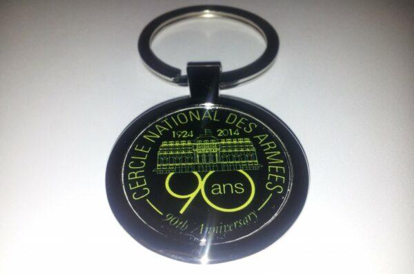 """Porte clés """"90 ans"""""""