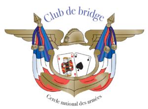 Le Club de Bridge du Cercle National des Armées vous offre son logo.