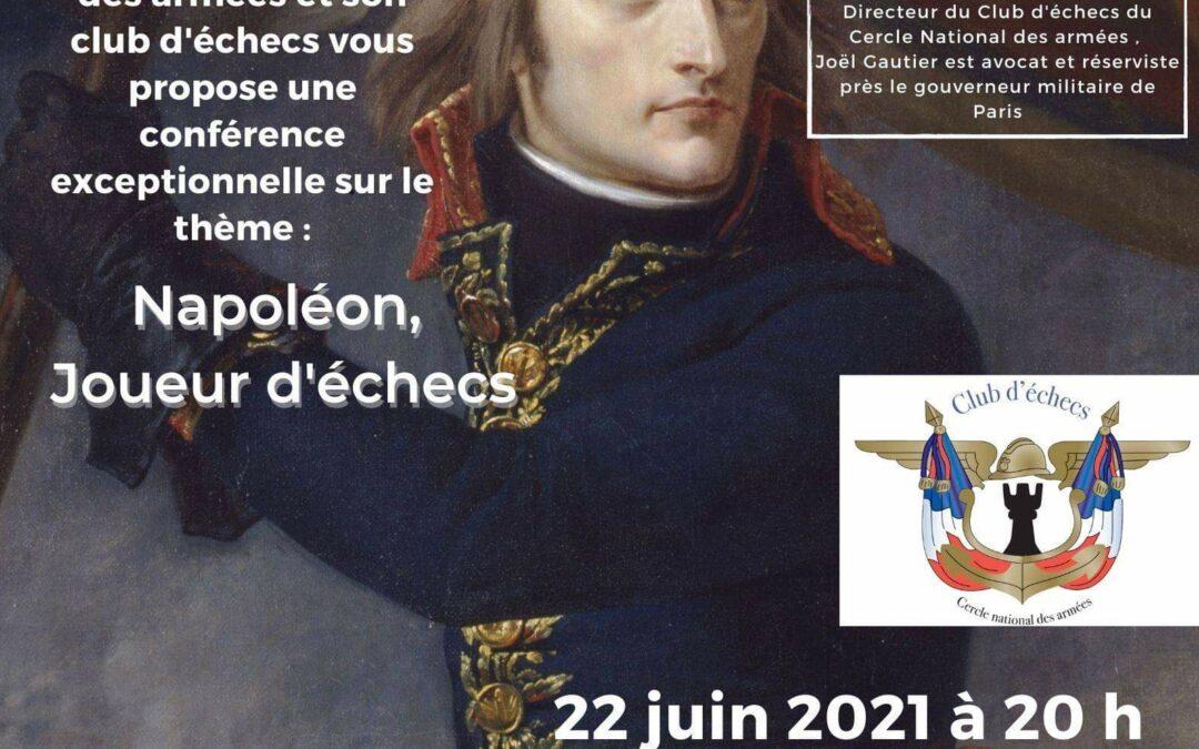 """Conférence """"Napoléon, joueur d'échecs"""""""